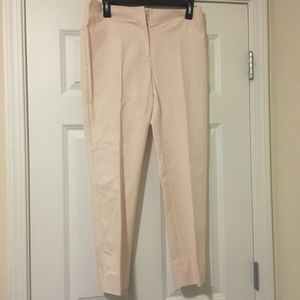 Size 0.5 (6) Chico's Pink Cropped Pant Small